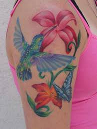 hummingbird tattoos for up this beautiful a