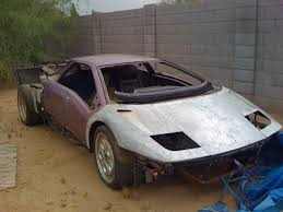 crashed lamborghini for sale