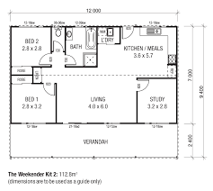 floor plans for sheds the weekender kit homes wide span sheds the cottages