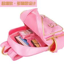 book bags with bows gold bows pink princess backpack for primary school book bags