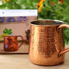rustic copper cocktail mugs the mazama store