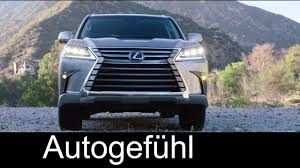 lexus lx 2016 car and driver lexus lx 570 driving exterior interior 2016 autogefühl youtube