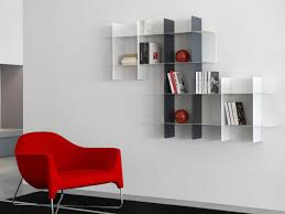 furniture cool innesto wall metal modular bookshelves design in