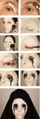 makeup tutorial scary makeup 12 best diy makeup tutorials gleamitup