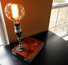 Steampunk Desk Lamp Industrial Desk Lamp Steampunk Furniture By Novemberreserve On