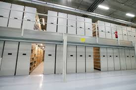 standard mobile shelving mechanical electric archival