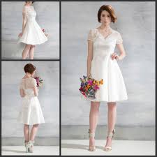 simple knee length wedding dresses cheap knee length wedding dresses dress images