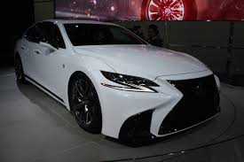 lexus f sport rims lexus ls f sport brings performance upgrades sporty look