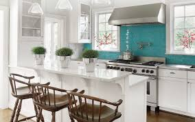 turquoise kitchen ideas turquoise backsplash ideas