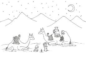 camel coloring page 2011 09 24 coloring page
