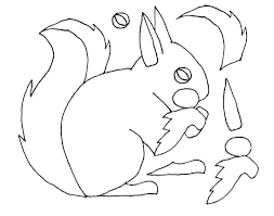 squirrel outline images reverse search