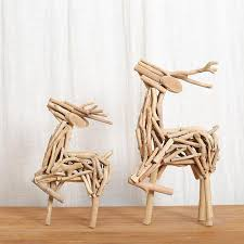 wood craft wooden craft table decor lovely deer 100 handmade wood