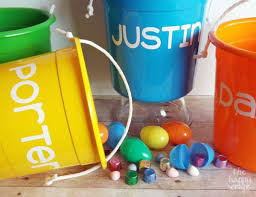 painted easter buckets 23 creative ways of using buckets in interior and exterior décor