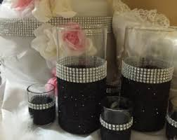 Bling Wrap For Vases Wedding Centerpiece Glitter Vase Bridal Bouquet Holder