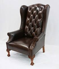 hill country wing back chair western accent chairs free shipping