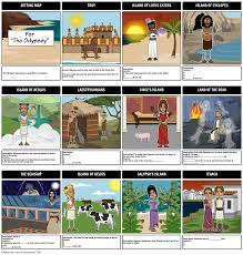 Blind Prophet In The Odyssey Guided Reading Setting Map Storyboard By Anna Warfield