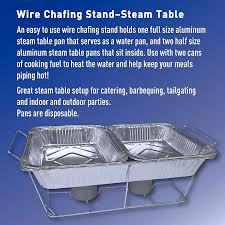 steam table pans for sale amazon com daily chef aluminum foil steam table pans half size