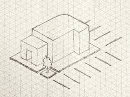 isometric sketch by bryant florez dribbble