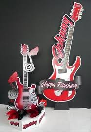Centerpieces For Parties Guitar Centerpieces For Parties Dj Signs Big Guitars Rock Star