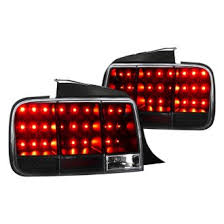 mustang led tail lights 2005 ford mustang custom factory tail lights carid com