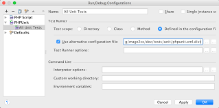 command pattern unit test running unit tests in phpstorm magento 2 developer documentation