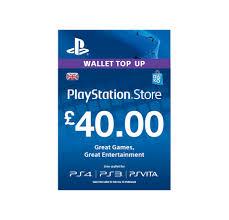 ps4 gift card buy 40 playstation store gift card ps3 ps4 ps vita digital code