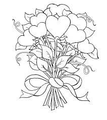 288 fantasy coloring hearts images drawings