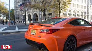 lexus rcf coupe top speed review 2016 lexus rc f right foot down