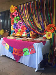mexican fiesta dessert table baby shower pinterest mexican