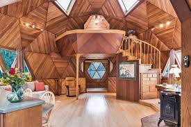 geodesic dome home interior guerneville geodesic dome home asks 475k curbed sf