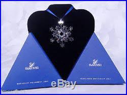 2004 snowflake ornament rockefeller center mib