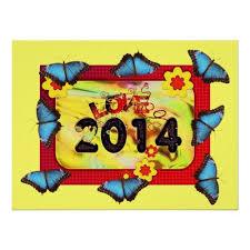 year butterfly pattern office peace destiny poster