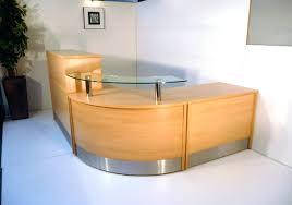Plywood Reception Desk Desk Fascinating Furniture L Shaped Home Office Plywood