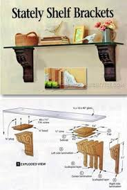 Plans For Wooden Shelf Brackets by Build A Simple Shelf Bracket For Any Space From Scrap Wood
