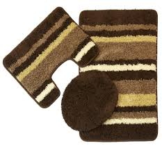 3 Piece Bathroom Rug Set by Bathroom Rug Sets Interiors Design