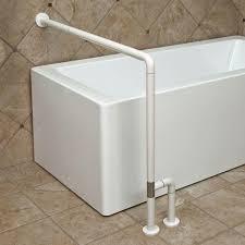 marion wall to floor bathtub grab bar white bathroom