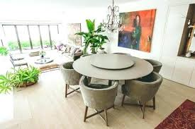 round table with lazy susan built in round table with lazy susan lazy dining table sophisticated round