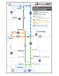 Interstate 26 Map Iowa Department Of Transportation