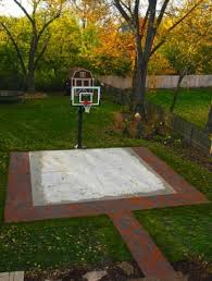 Build A Basketball Court In Backyard Photos Of Basketball Courts That Use Pavers