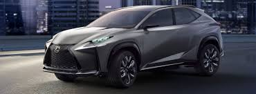lexus crossover vehicles lexus lf nx turbo crossover suv concept car lexus uk