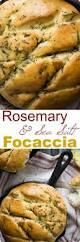 Rosemary Garlic Bread Machine Recipe Rosemary And Sea Salt Focaccia Bread Red Star Yeast