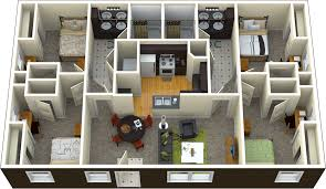 4 bedroom 2 bathroom flat per person installments starting at 655
