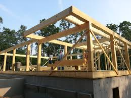 Cantilevered Deck by Post And Beam Construction Part 2