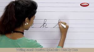 cursive writing for beginners step by step writing small cursive