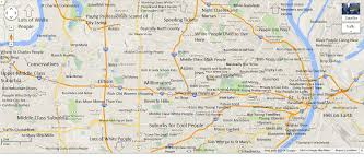 Great Mall Store Map Judgmental Map Of St Louis The St Louis Egotist