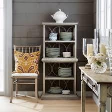 spindle back weathered oak dining chair u0026 pad oka