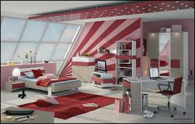 Bedroom Ideas For Teenage Girls Red Special Creative Girls Rooms Cool And Best Ideas 5183