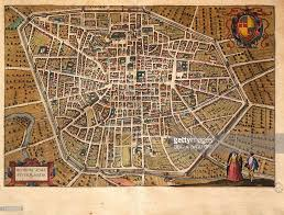 Bologna Italy Map by Map Of Bologna 1620 Italy 17th Century Print Pictures Getty