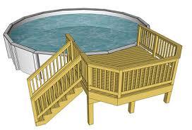 pool plans free decks com free plans