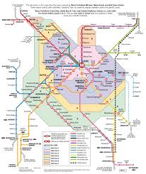 Metro Rail Dc Map by Transit Maps